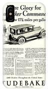 1927 - Studebaker Commander Automobile Advertisement IPhone Case