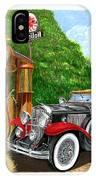 1929 Cadillac Dual Cowl Phaeton And Pegasus IPhone Case