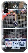 1929 Mercedes Benz Front Grill IPhone Case