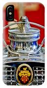 1929 Packard 8 Hood Ornament 2 IPhone Case