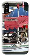 1929 Water Taxi IPhone Case