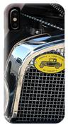 1930 Ford Model A - Front End - 7497 IPhone Case