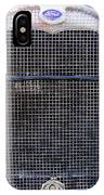 1930 Ford Model A Grille IPhone Case