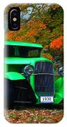 1930 Ford Sedan Delivery Truck  IPhone Case