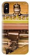 1930 Packard Speedster Runabout Engine -0539c IPhone Case