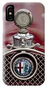1931 Alfa-romeo Hood Ornament IPhone Case