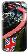 1931 Bentley 4.5 Liter Supercharged Le Mans Steering Wheel -1255c IPhone Case