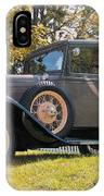 1931 Ford Sedan On Hill At Greenfield Village In Dearborn Michigan IPhone Case