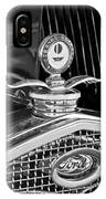 1931 Model A Ford Deluxe Roadster Hood Ornament 2 IPhone Case