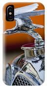 1932 Alvis Hood Ornament 2 IPhone Case