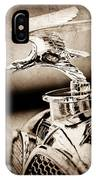 1932 Alvis Hood Ornament - Emblem IPhone Case