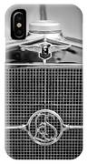 1932 Cadillac Lasalle Grille Emblem IPhone Case