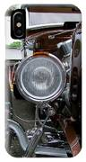 1932 Ford Roadster Head Lamp View IPhone Case