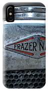 1932 Frazer Nash Tt Radiator Badge IPhone Case