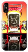 1932 Front Ford V8 Hotrod IPhone Case