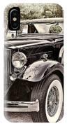 1932 Packard 903 Victoria IPhone Case