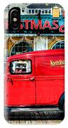 1933 Chevy Delivery Truck Red IPhone Case