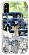 1934 Oldsmobile Touring Coupe 2 IPhone Case