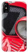 1935 Aston Martin Ulster Race Car Grille IPhone Case
