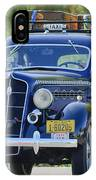 1935 Plymouth Taxi Cab IPhone Case