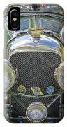 1936 Bentley 4.5 Litre Lemans Rc Series IPhone Case