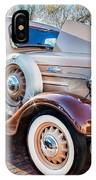 1936 Chevrolet Pick Up Truck Painted    IPhone Case