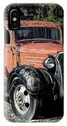 1937 Chevy Wrecker IPhone Case