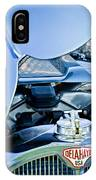 1937 Delahaye 115a Engine IPhone Case