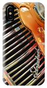 1938 Chevrolet Coupe Grille Emblems IPhone Case