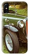 1938 Mg Ta Priced At Only 1550. In 1970.  IPhone Case