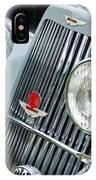 1939 Aston Martin 15-98 Abbey Coachworks Swb Sports Grille Emblems IPhone Case