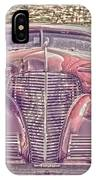 1939 Chevy Immenent Front Color IPhone Case