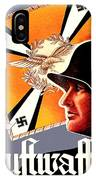 1939 German Luftwaffe Recruiting Poster - Color IPhone Case