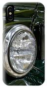 1940 Dodge Pickup Headlight Grill IPhone Case