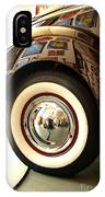 Classic Maroon 1940 Ford Rear Fender And Wheel   IPhone Case
