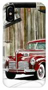 1940 Hudson And Barn IPhone Case