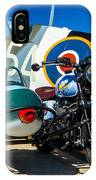 1940 Triumph And Supermarine Mk959 Spitfire  IPhone Case