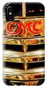 1941 Gmc Suburban Woody Wagon Grille Emblem IPhone Case