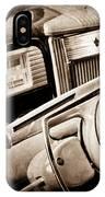 1941 Packard Steering Wheel Emblem IPhone Case