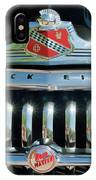 1947 Buick Sedanette Grille IPhone Case