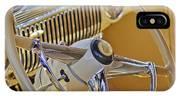 1947 Cadillac 62 Steering Wheel IPhone X Case