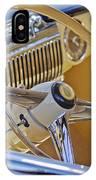 1947 Cadillac 62 Steering Wheel IPhone Case