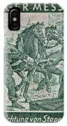 1948 Allied Occupation German Stamp IPhone Case