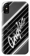 1948 Anglia Grille Emblem -510bw IPhone Case