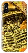 1948 Chev Gold Tie Dye Tilt Car Art IPhone Case