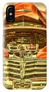 1948 Chev Red Gold Metal Art IPhone Case