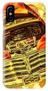 1948 Chevy Gold Acid Art IPhone Case