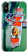 1948 Chrysler Town And Country Convertible Emblem -0974c IPhone Case