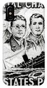 1948 Immortal Chaplains Stamp IPhone Case
