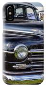 1948 Plymouth Special Deluxe Coupe  IPhone Case